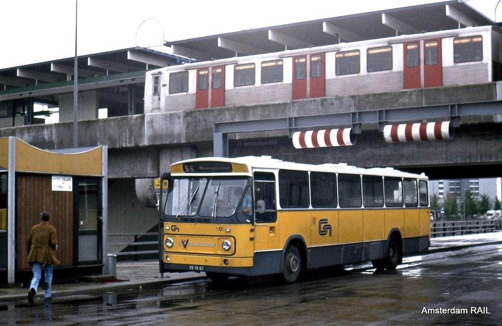 amsterdam bus metro 1977 verheul bodied leyland 1101 flickr. Black Bedroom Furniture Sets. Home Design Ideas