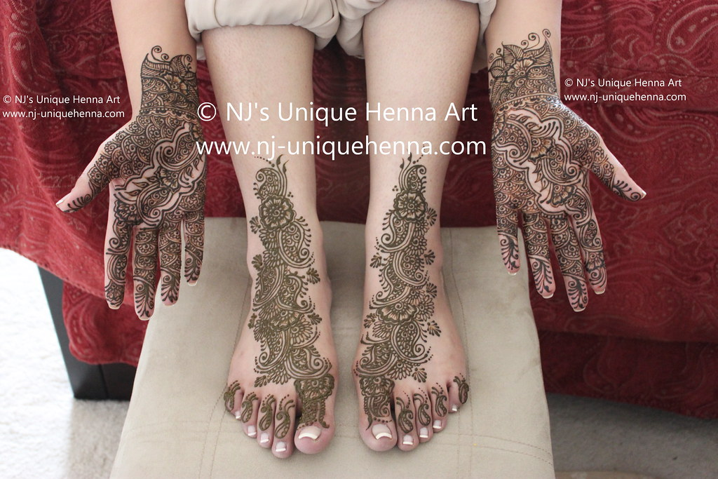 Bridal Mehndi Nj : Juwayriyas bridal henna feet and hands 2010 © njs uniqueu2026 flickr