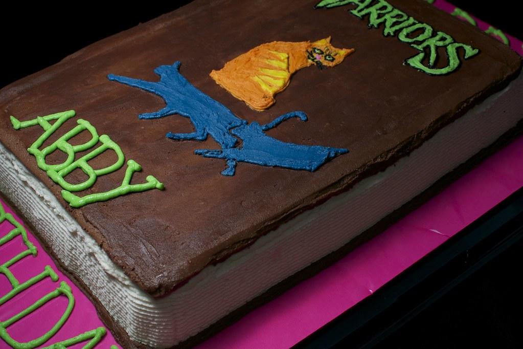 Warrior Cat Birthday Hawkstar Cake For Abby Lisa Stephens Flickr