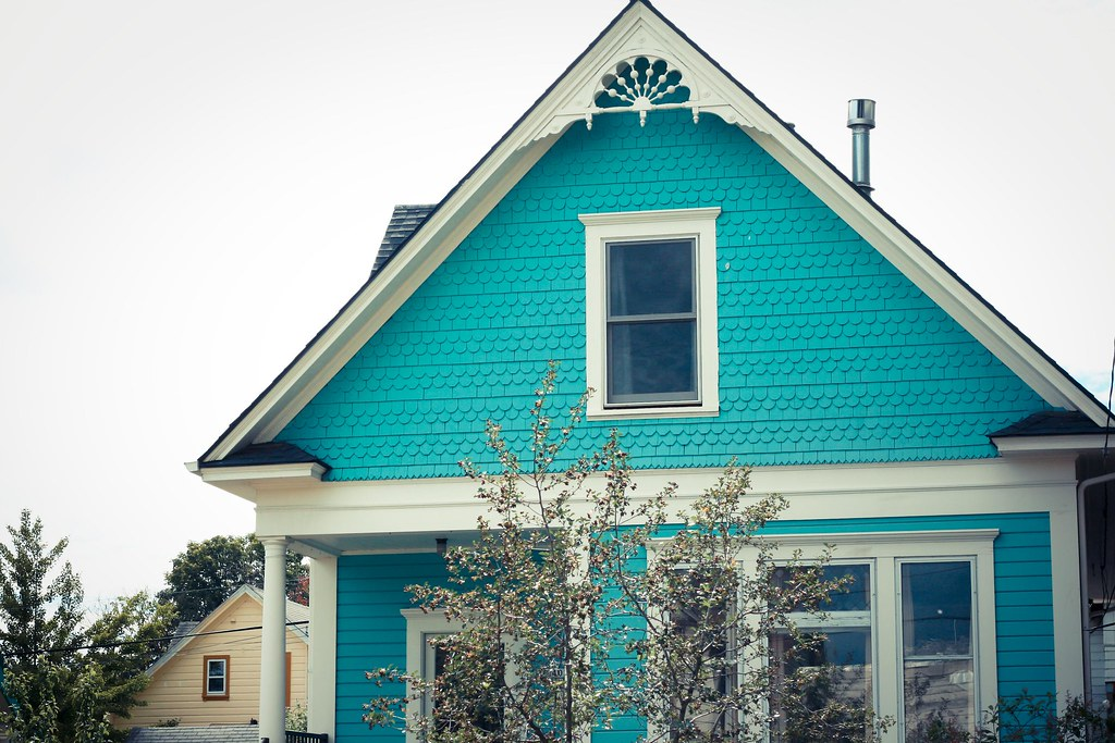 Turquoise House  Now That Is A Turquoise House. Corner Couch. Bathroom Wall Art Ideas. 42 Round Table. Nautical Couch. Marble Bathroom Vanity. Dining Table Size. Backsplash Materials. Black Vanity Light Fixtures