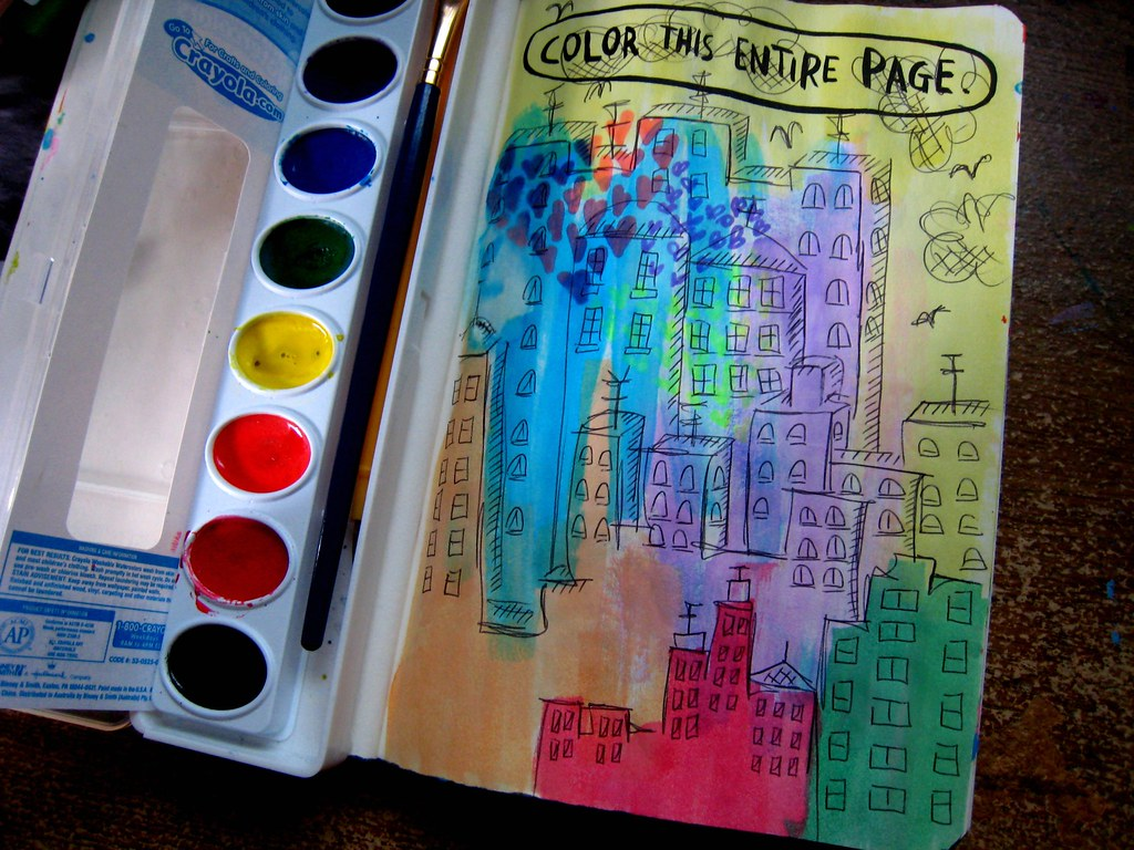 color this entire page wreck this journal - wtj color this entire page barb watson flickr