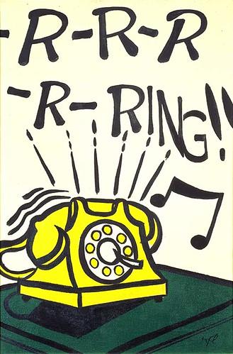 Roy lichtenstein 1962 r r r r ring oil on canvas 61 - Roy lichtenstein cuadros ...