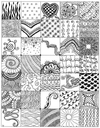 Zentangle Patterns Flickr Enchanting Zentangle Patterns