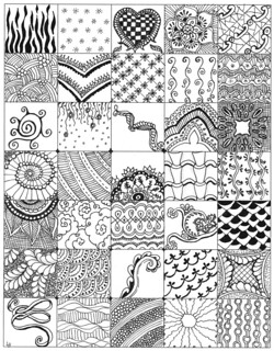 My Zentangle bits 01 | by lacefairy1