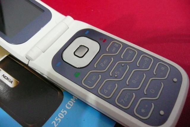 Nokia 2505 Blue Keypad