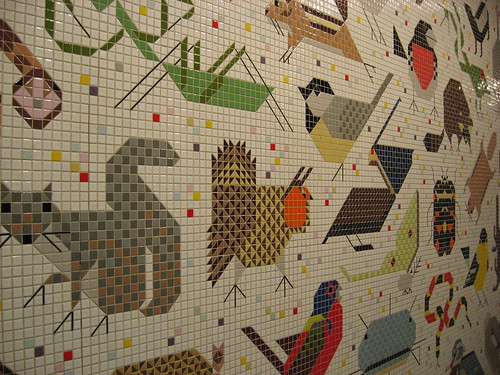 Charley harper mural this is a picture of charley harper for Charley harper mural cincinnati
