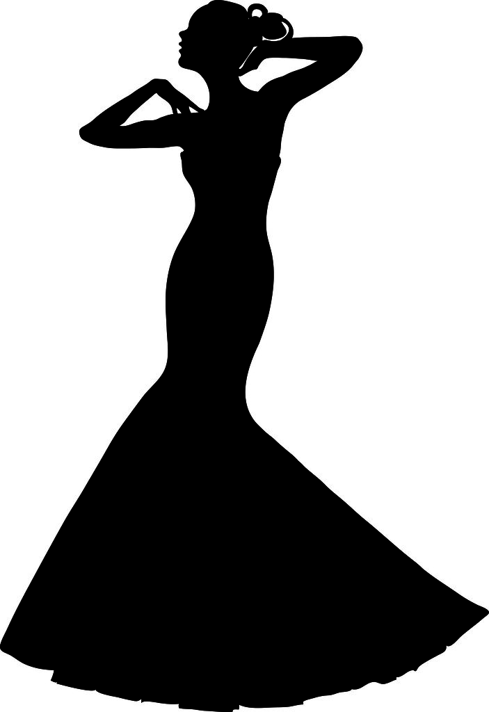 clip art illustration of a spring bride in a strapless gow flickr rh flickr com  quinceanera crown clipart