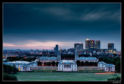 Cannary Warf from Greenwich II | by Aitor Escauriaza