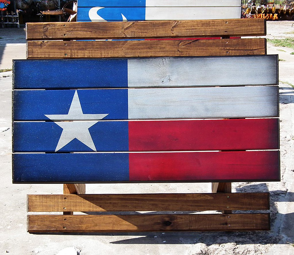 ... Custom Metallic Texas Flag Table | By Wild Bills Furniture Store