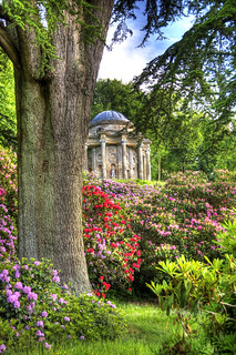 Stourhead, Temple of Apollo & Rhododendrons | by tonybill