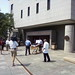 Stretcher being wheeled into Hfd. Superior Court for Maria Perez who collapsed in the court room after hearing the verdicts.
