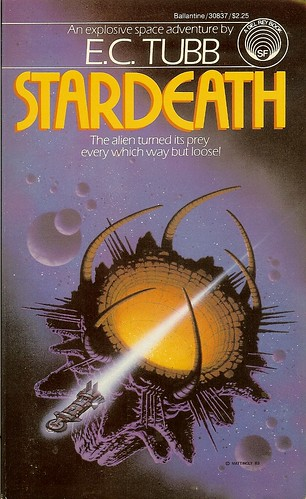E.C. Tubb - Stardeath - cover artist David B. Mattingly