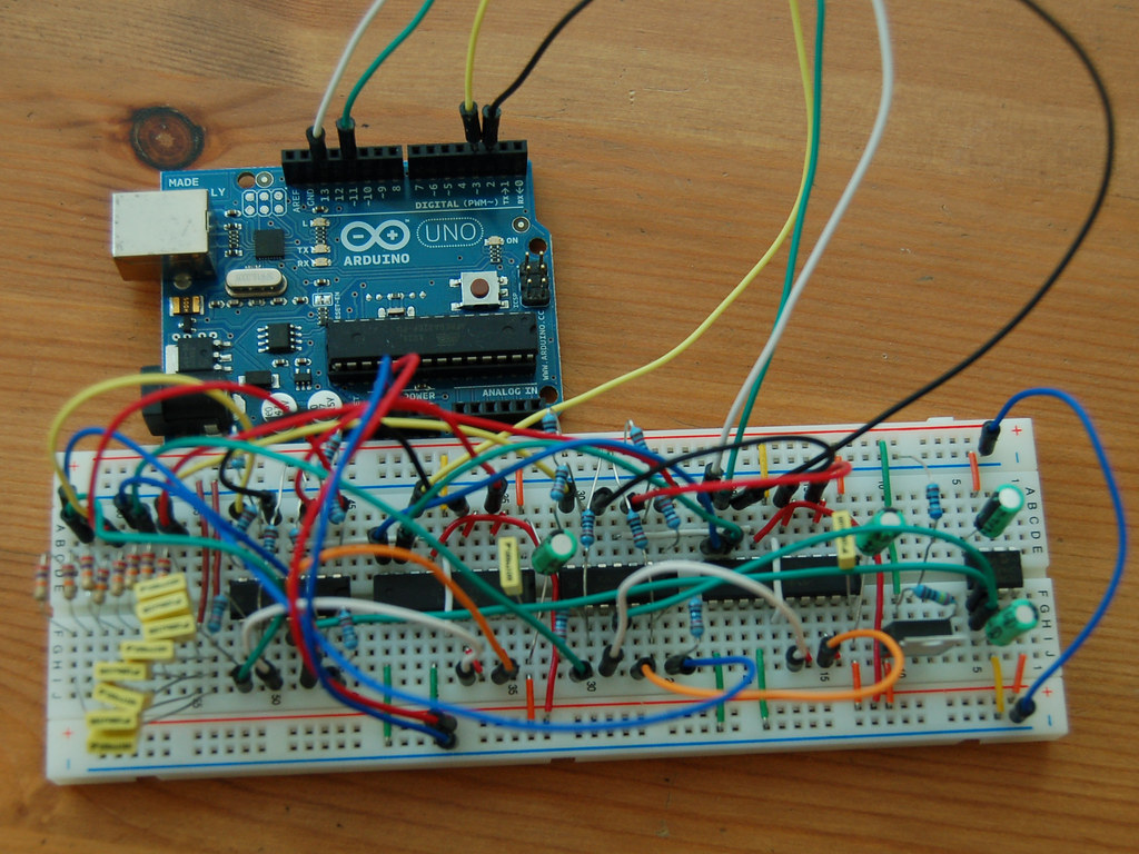 Octomod Breadboard Pictured Is My Attempt At