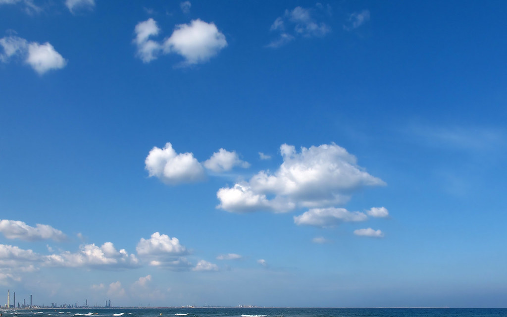 Blue Sky With Clouds Wallpaper 56 Images: Blue Sky With Clouds Wallpaper