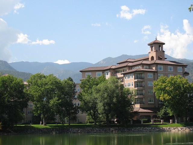 Broadmoor 8 Broadmoor Hotel Colorado Springs Co By