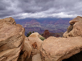 Ooh-Aah Point view - storm clouds gathering | by Al_HikesAZ