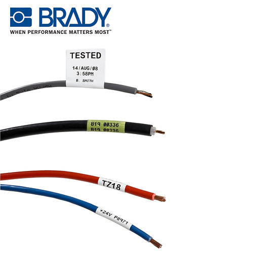Cable Identification Tags : Wire and cable identification brady s