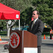 CSUCI President Richard R. Rush Speaking at Groundbreaking Ceremonies for John Spoor Broome Library