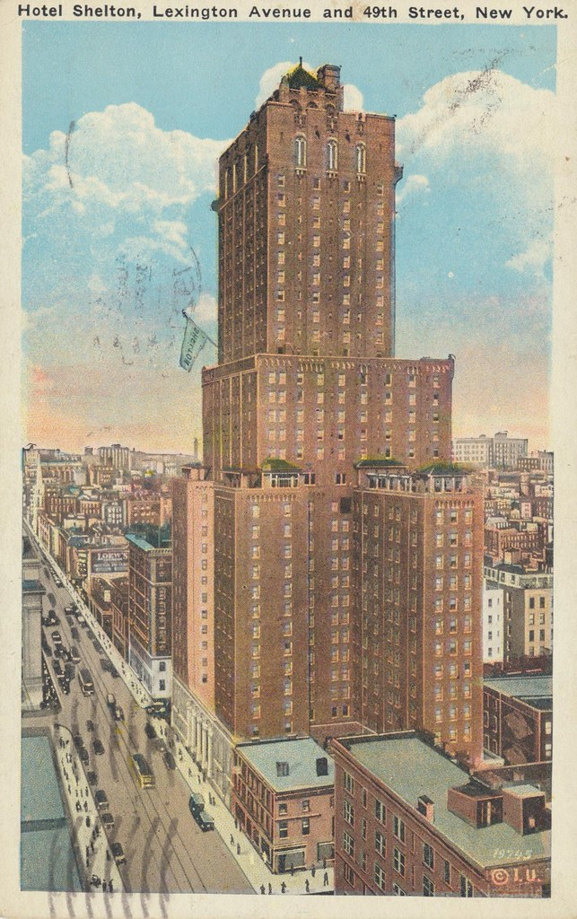 Hotel Shelton - New York, New York