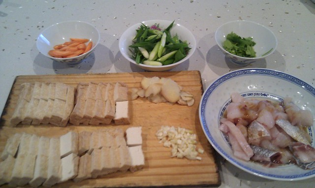 Raw Ingredients - Red Cooked Hapuka and Tofu | Stir-frying s ...