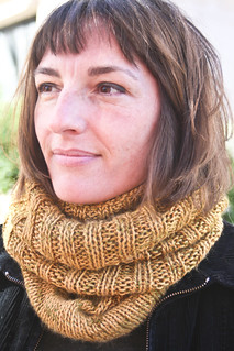 Annabella's cowl in Debbie Bliss Andes + Madeline Tosh Lace | by add_knitter