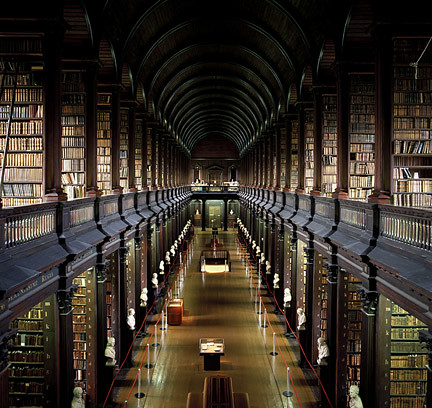 Trinity College Library Dublin Ireland Trinity College Dublin The