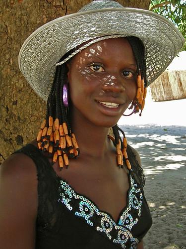 Nice Girl, Fille De Senegal  This Nice Girl, Antiou, 15 -5261