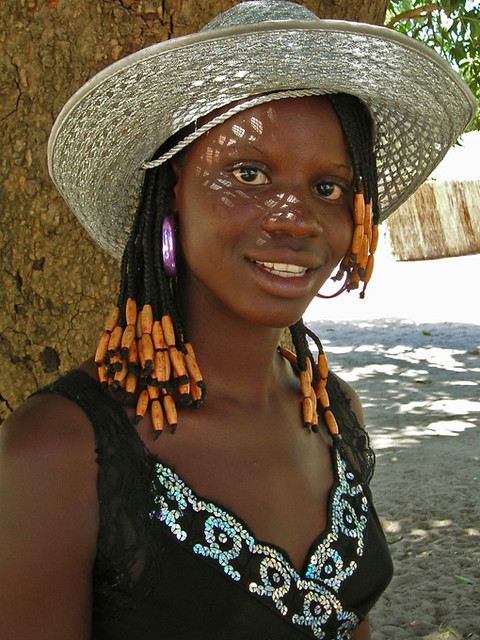 Nice Girl, Fille De Senegal  This Nice Girl, Antiou, 15 -2016