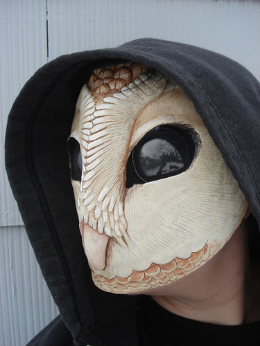 owl mask final4 | Owl masks are available now: missmonster ...