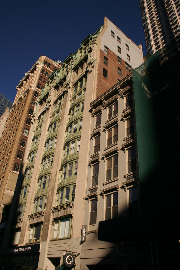 old new york evening post building downtown manhattan man flickr. Black Bedroom Furniture Sets. Home Design Ideas