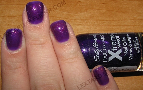 Sally Hansen Hard As Nails Xtreme Wear - Purple Pizzazz | Flickr