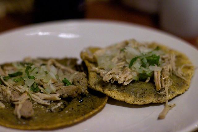 Tacos de pollo taken in m rida yucat n m xico brent - Tacos mexicanos de pollo ...