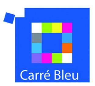 Logo carr bleu carr bleu flickr for Carre bleu
