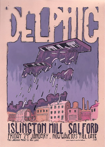 Delphic Poster | by himHallows