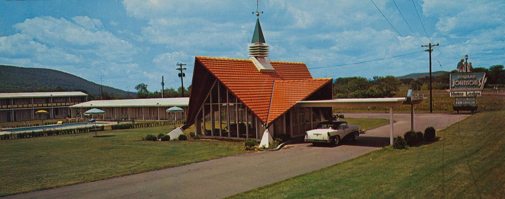 Howard Johnson's Motor Lodge and Restaurant - Horseheads, New York