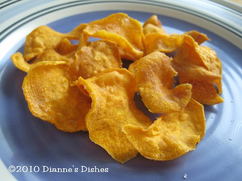 Sweet Potato Chips | by Dianne's Dishes