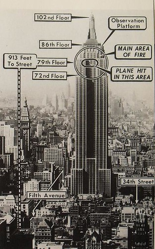 1940s    NEW       YORK    CITY vintage photo and    diagram    of where air      Flickr
