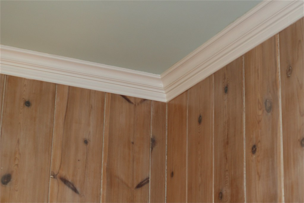 Knotty Pine and Crown Molding   Owen W Brown   Flickr