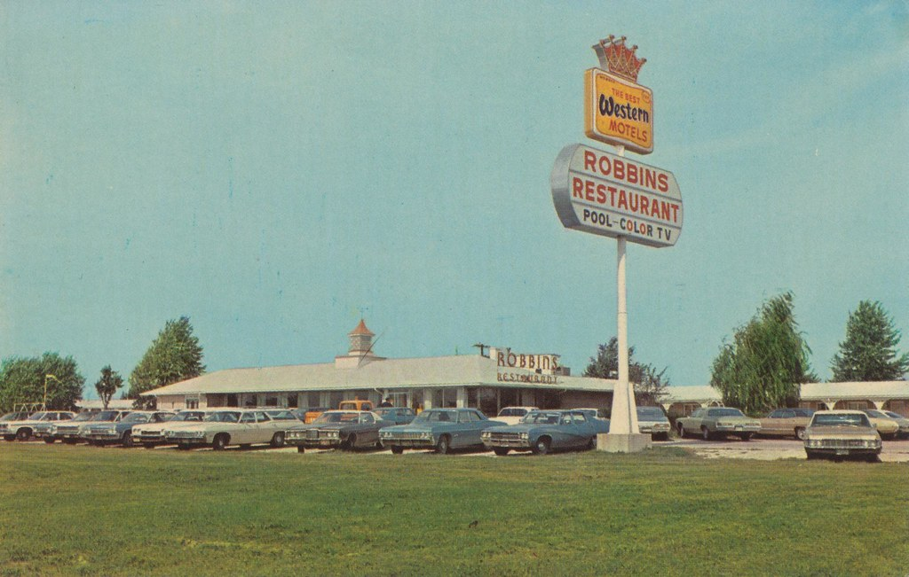 Robbins Restaurant and Best Western Motel - Vandalia, Illinois