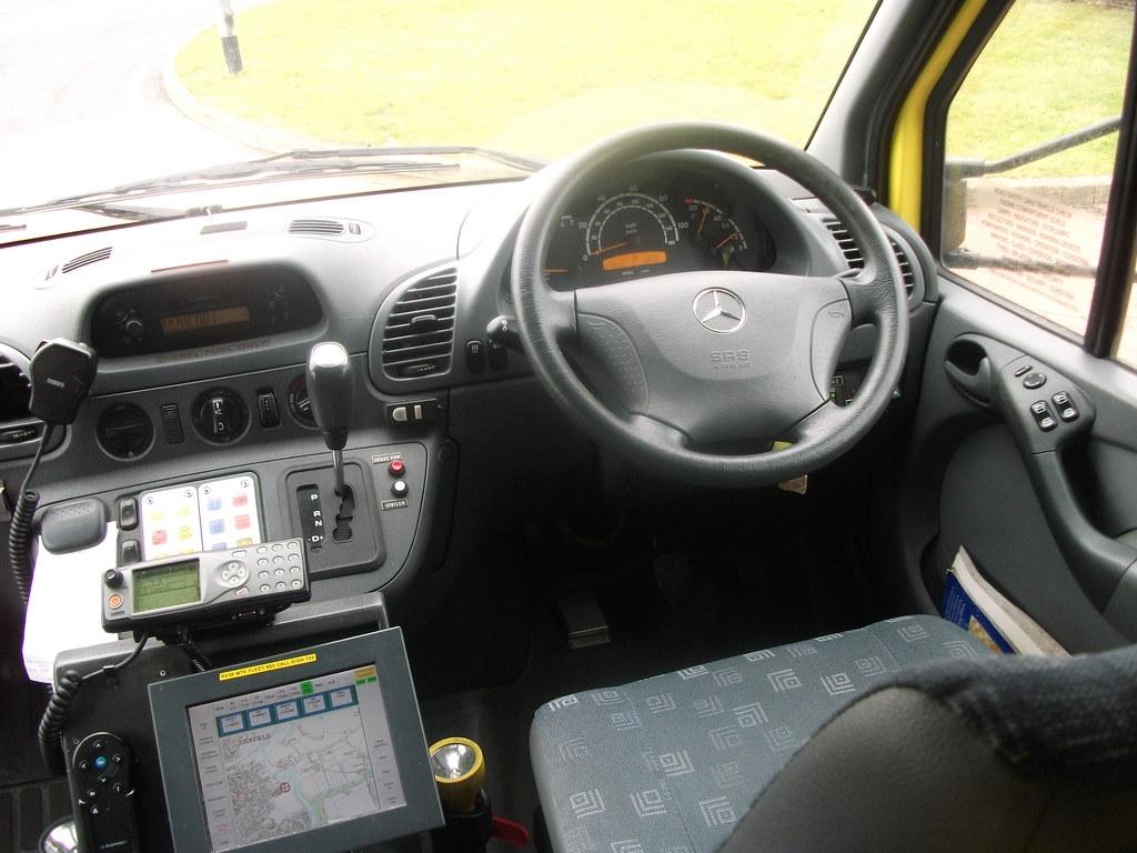 Mercedes Benz Sprinter >> Inside the cab of RX56MTK Mercedes-Benz Sprinter Ambulance… | Flickr