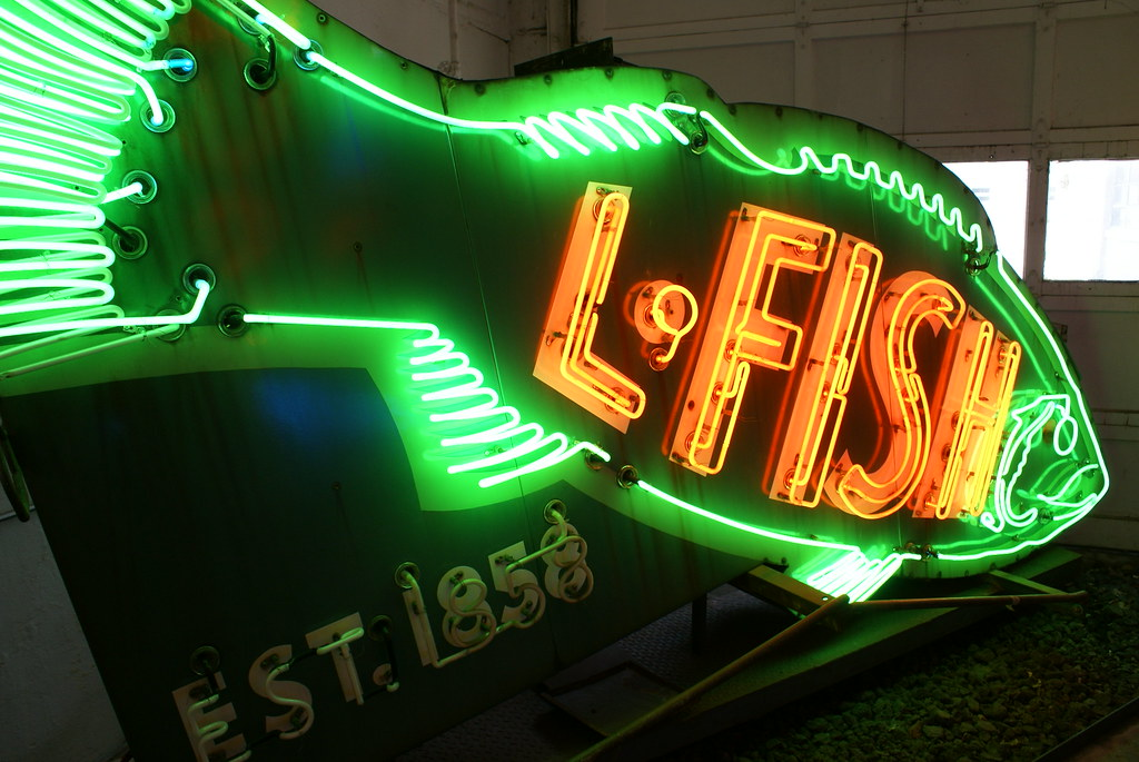 ... Cincinnati   American Sign Museum   L. Fish Furniture | By The_mel