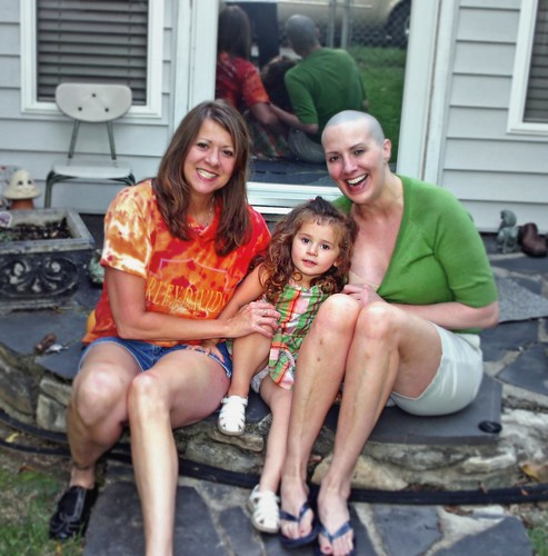Day Before Breast Cancer Reconstruction Aunt, Sister & Neice | by SmilingStrong