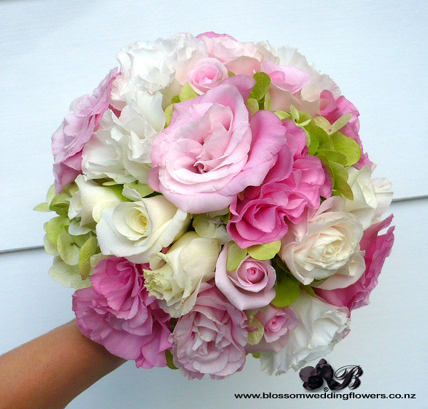 Green And Pink Roses green-hydrangea...