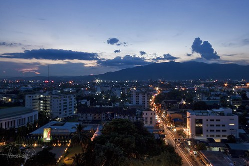 Chiang Mai in Blue hour | by Hamad A. Alajmi - www.Q8italk.com