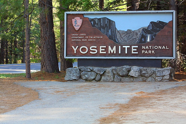Entrances Yosemite National Park National Park Entrance Signs
