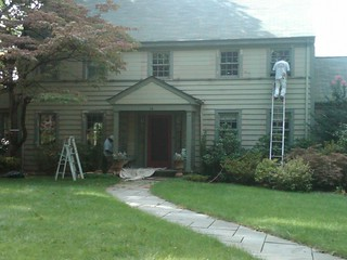 Residential Exterior Painting in Maplewood New Jersey | by OlgerFallasPainting