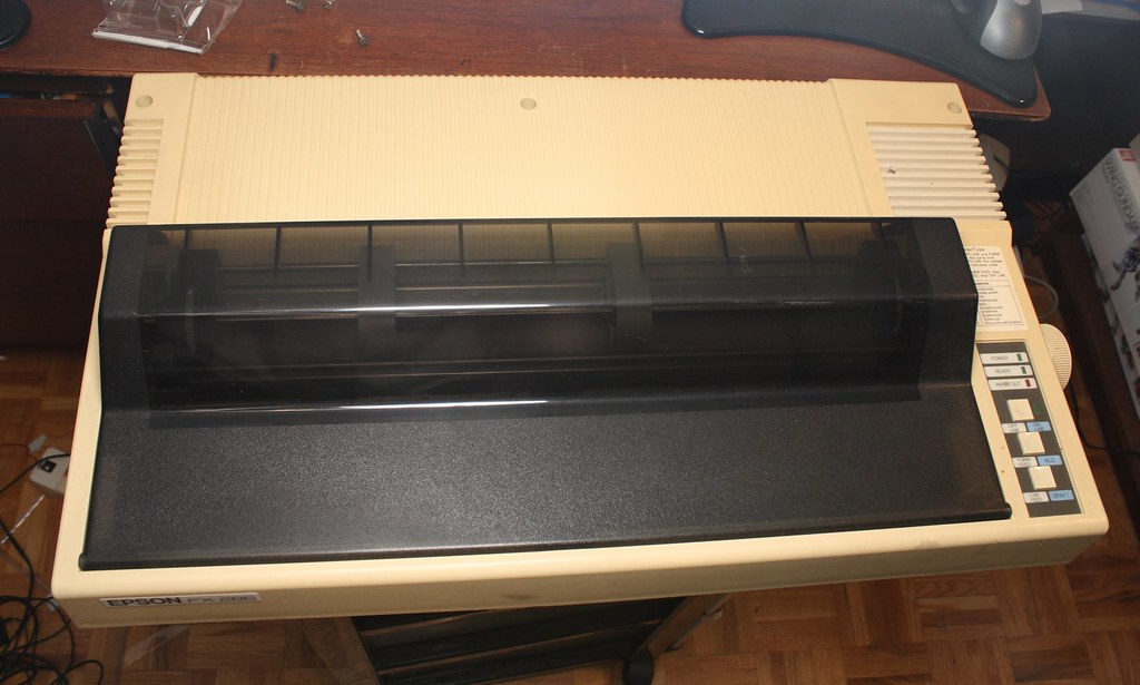epson fx-286 dot matrix printer | w1n9zr0 | flickr