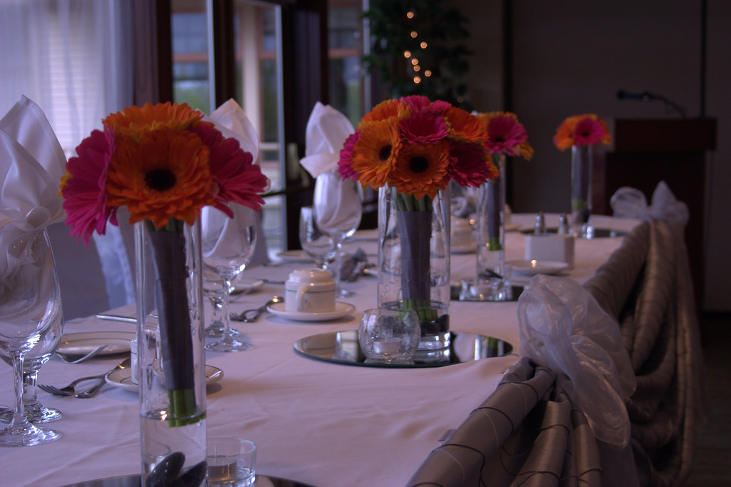 Gerbera Wedding Wedding Event At The Quilchena Golf And Co Flickr