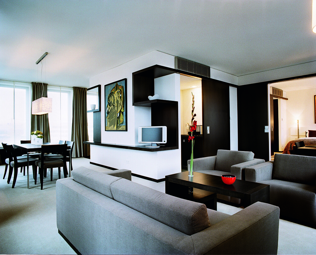 Modern High Tech Trendy Looking Executive Room At The Hote
