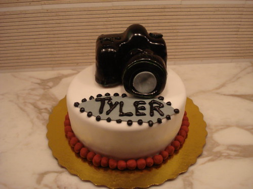 Cake Designs For 17 Year Old Boy : Camera cake horizontal I was asked to make a birthday ...